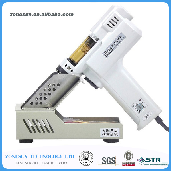 2 in 1 Electric Vacuum Desoldering Pump Solder Sucker Gun 100W 220V S-993A dp 366d solder sucker