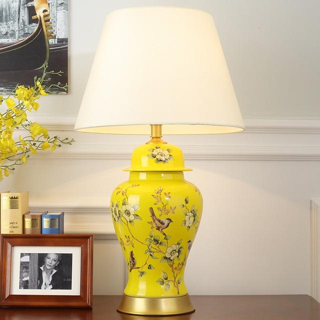 dayton andrews lamp ceramic regina table by