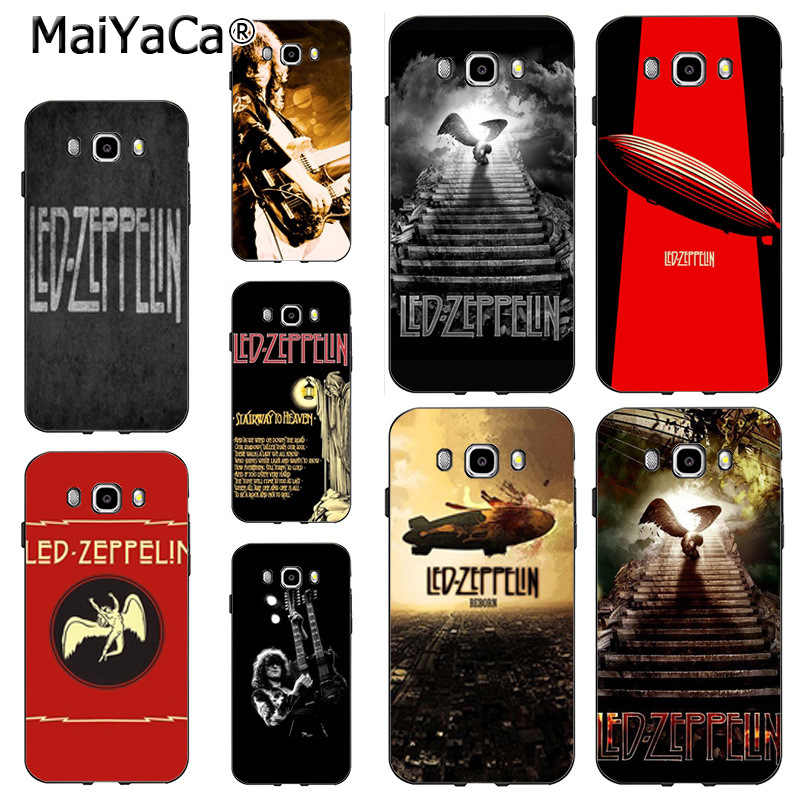 MaiYaCa Heavy Metal Band Led Zeppelin  DIY Painted Beautiful Phone case for samsung J5 j120 j3 j7(2015) note 3 note4 note5 case