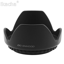 49mm 52mm 55mm 58mm 62mm 67mm 72mm 77mm 82mm Lens Hood Screw Mount Flower Shape For