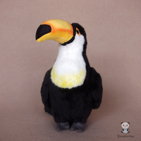 Lovely Toucan Doll Plush Kids Toys Holiday Gifts Good Qualty Stuffed Animal Toy Home Furnishings