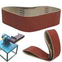 6pcs 400 Grit Abrasive Sanding Belt Sanding Belts 100X915mm For Metal Working Sander Tools