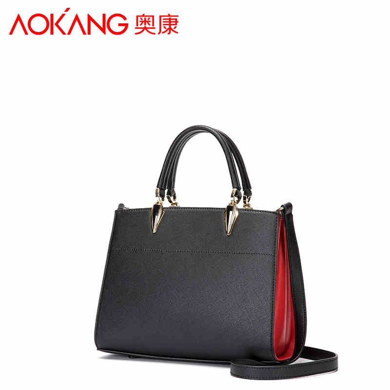 Aokang 2017 new arrival lady handbag one shoulder women bags Euramerican style fashion pattern female handbags free shipping adidas original new arrival unisex shoulder bag aj9998 aj9997 sports outdoor bags one shoulder free shipping