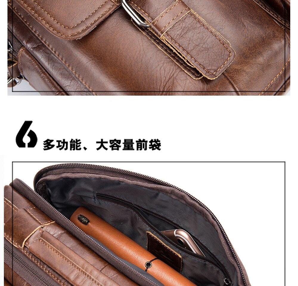 HTB16vpiXvfsK1RjSszgq6yXzpXaU men Genuine Leather Shoulder Messenger Bag men's Handbag Vintage Crossbody Bag Tote Business Man Messenger Bag