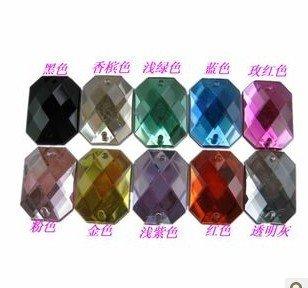 Плата 13*18 мм 300 шт квадратные акриловые пуговицы Швейные Пряжки для творчества аксессуары для одежды украшения