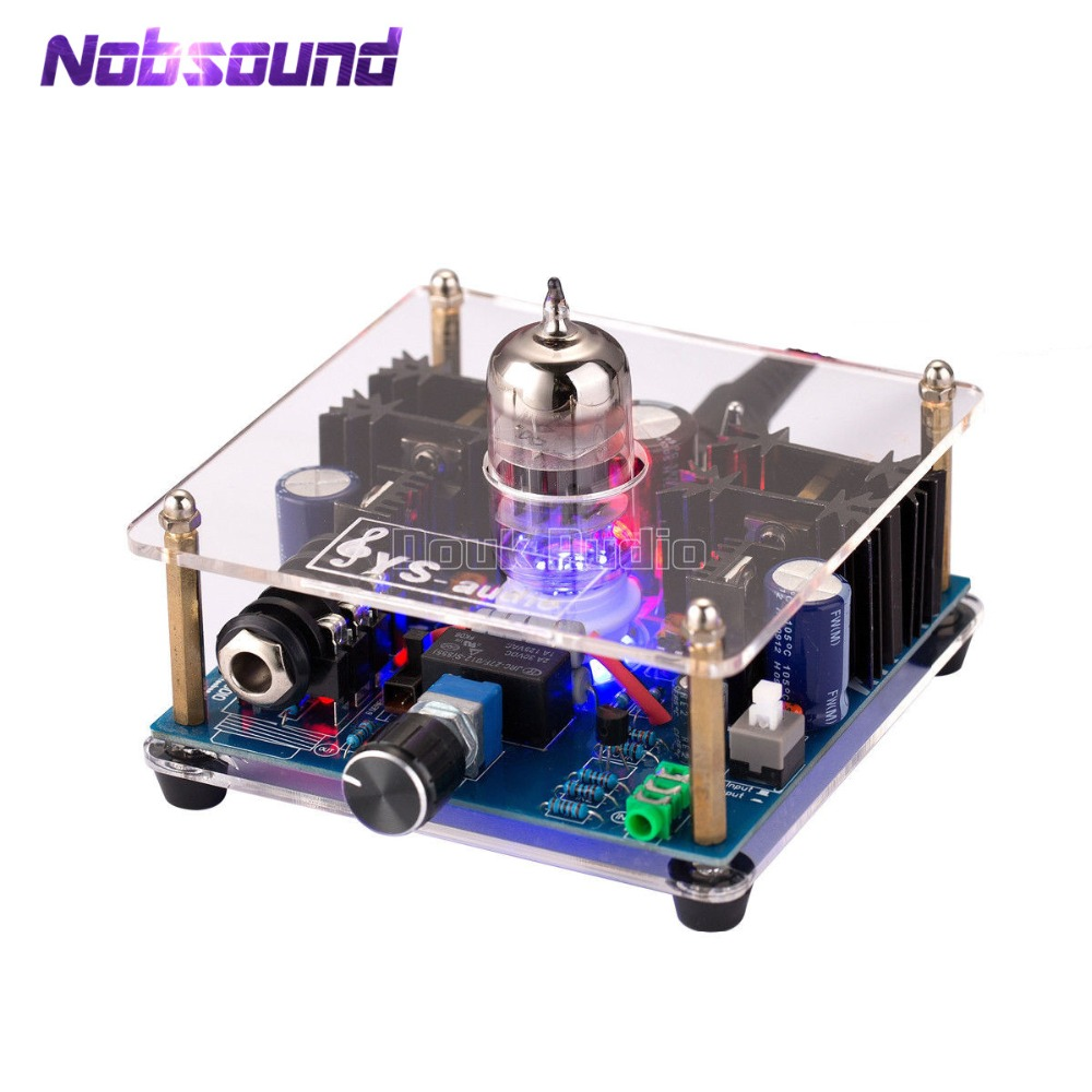 Mini Class A 12AU7 Vacuum Tube Multi-Hybrid Headphone Amplifier Stereo Pre-Amp Class A Amplifier With Audiophile Performance. ...