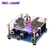 Mini Class A 12AU7 Vacuum Tube Multi Hybrid Headphone Amplifier Stereo Pre Amp Class A Amplifier With Audiophile Performance.