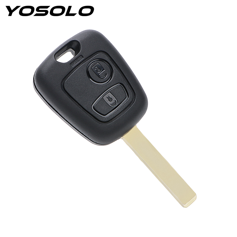 Car-styling Auto Replacement Parts 2 Button Remote For Citroen Peugeot Xsara Picasso Key Cover Car Key Shell