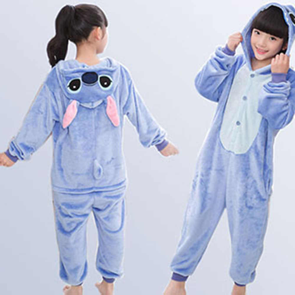 fe62c1f217c3 ... Единорог Дети пижамы для девочек и мальчиков комбинезон детские пижамы  фланелевые Рождественская теплая Пижама ползунки для ...