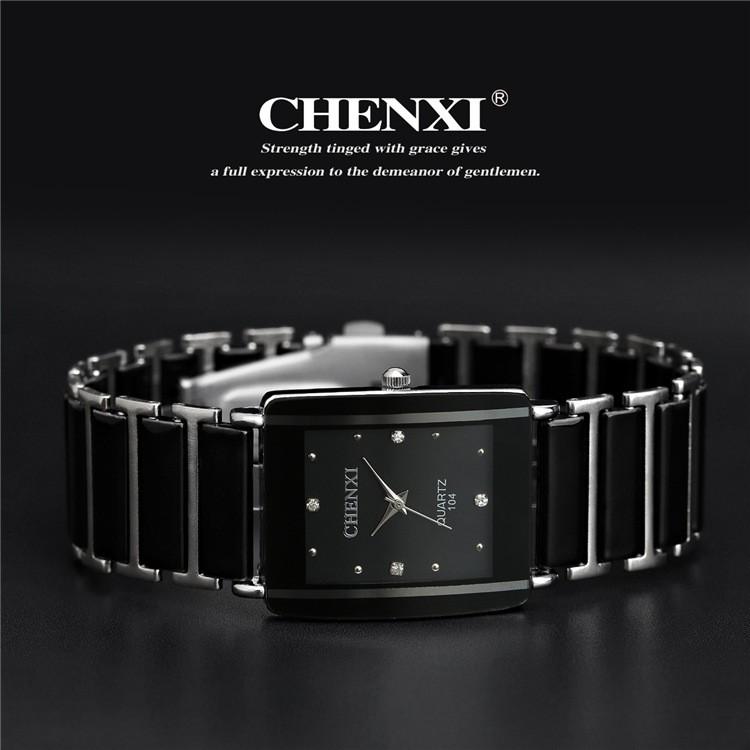 Quartz Watch, Women & Men Lover Ceramic Watches ,Quartz-watch Fashion Waterproof Dress Wrist watches 6
