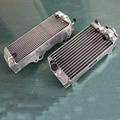 For Suzuki RM-Z450 RMZ450 RMZ 450 2005 05 L&R aluminum alloy radiator 40mm core in size