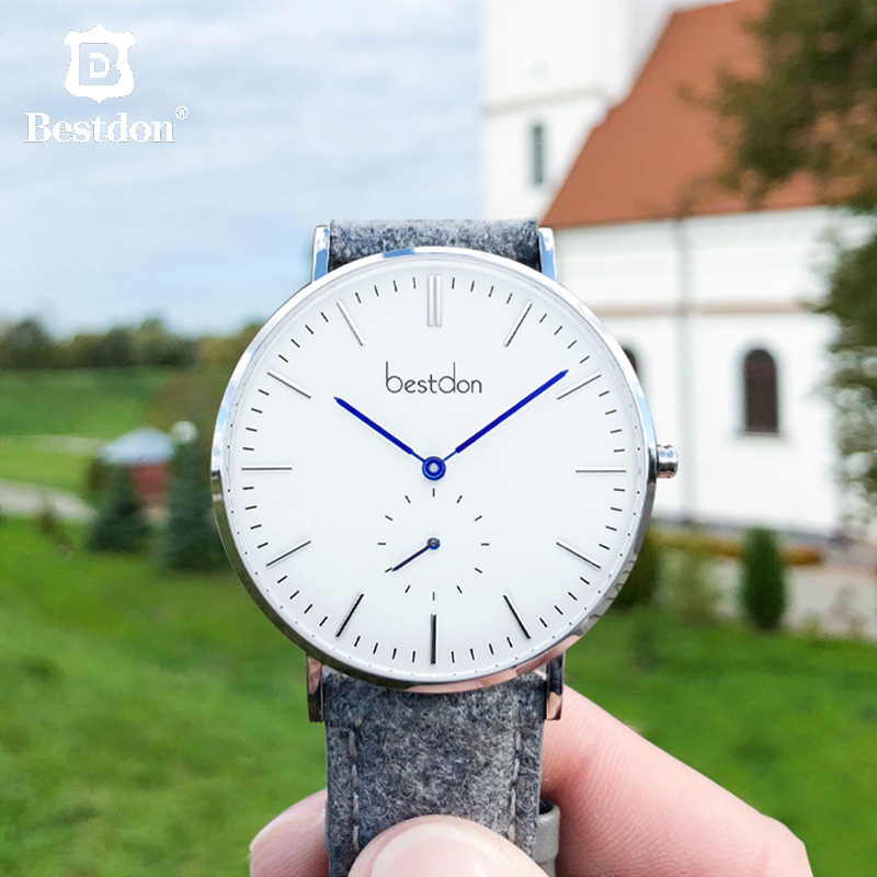 Bestdon Fashion Unisex Watch Switzerland Luxury Brand Men Ladies Wrist Watches Thin Casual Couple Relogio Masculino
