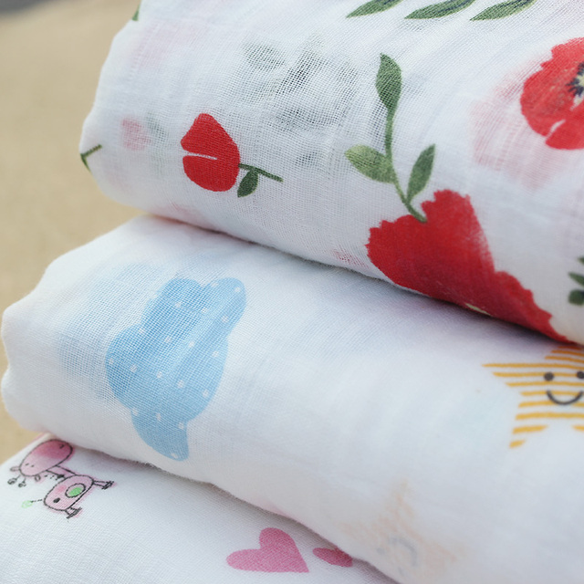 Cotton Baby's Swaddle  Blanket