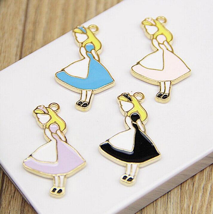New 20 pcs Popular Cartoon Alice in Wonderland Princess In ...