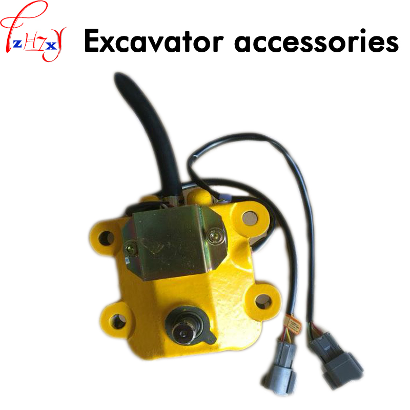 Excavator accessories 7824-30-1600 throttle motor PC200-5/120-5/220-5 1pc deawoo excavator throttle sensor dh stepper motor throttle position sensor excavator spare parts