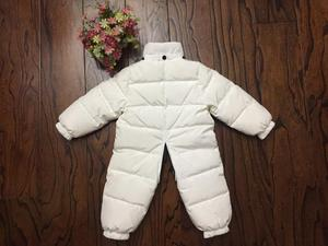 Image 5 - 2019 New Baby Boys Girls Winter Rompers Children Outerwear Jackets Coats Thicken Winter Warm Hoodie Clothes Windproof Snowsuit