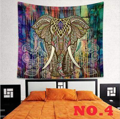 21 Dessins Choisir Elephant Tapisserie Couleur Imprime Decoratif