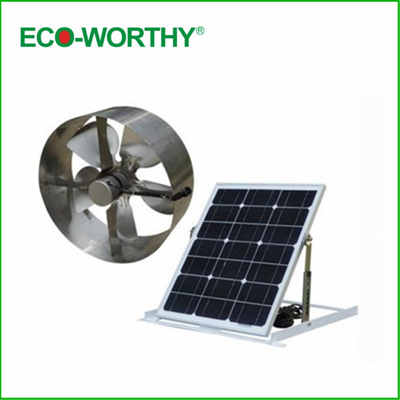 Free Shipping 25w Soalr Fan Solar Vent Attic Vent Gable