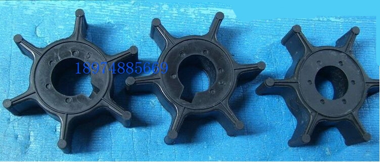 """Impeller /& gasket for Yamaha 4hp 5 hp 2 stroke  outboard /""""6e0/"""" new water pump"""
