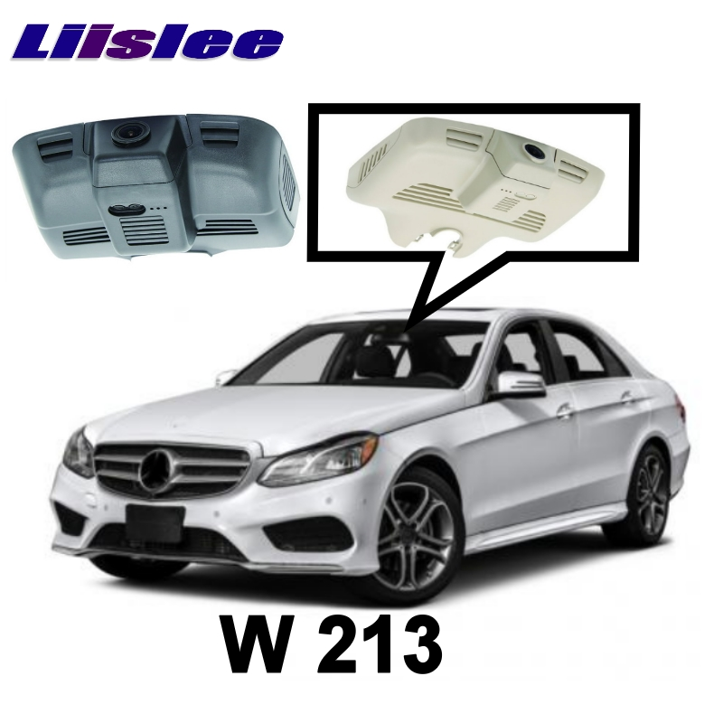 LiisLee Car Black Box WiFi DVR Dash Camera Driving Video Recorder For Mercedes Benz E MB W213 E300 E350 E400 E43 E63 2016 2017