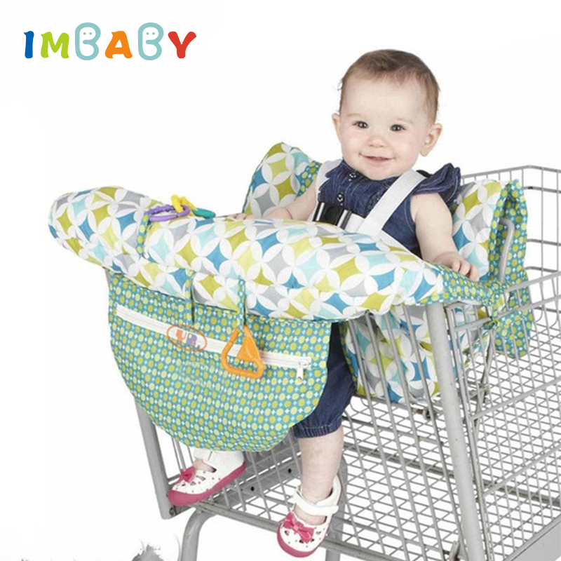 Y-Step Baby Shopping Trolley Cover Toddler 2 in 1 Highchair Cover Universal Size Waves