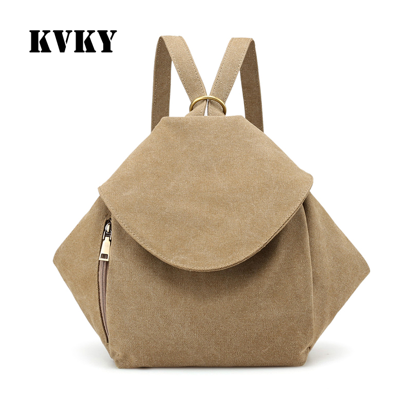 Sky fantasy Popular classic canvas women multi purpose backpack vogue fashion casual Korean style youth girls