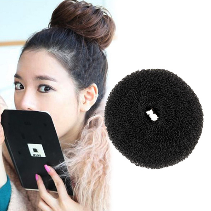 the wrap up hair styling sponge 1pcs hair styling tool donut shape hair styler soft 6252