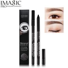 Imagic Eye Makeup Waterproof Eyeliner Pencil Gel Black Liner Pen Kit Smooth Cream No Smudge and Long Lasting