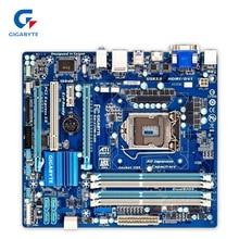 Placa Madre de Escritorio Gigabyte GA-Z77M-D3H Original Utilizado Z77M-D3H Z77 LGA 1155 DDR3 i3 i5 i7 32G SATA3 Micro-atx