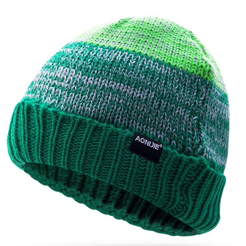 AONIJIE 2019 Men Warm Hats Cap Winter Hat Knitting For Men Caps Lady Casual Knitted Skullies Outdoor Women's Snowboard Beanies