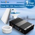 70dbi Sanqino Potente 4G LTE 2600 Repetidor de Señal Display LCD 4G Boost 20dBm Repetidor 2600 mhz Teléfono Celular amplificador de Señal 4G de Refuerzo conjunto