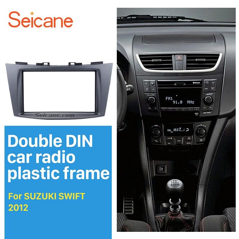 Marco de radio 1/DIN//2/DIN adaptador para radio de Fiat Sedici//Suzuki SX4