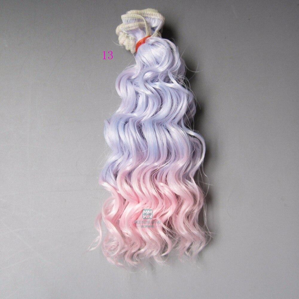 1st 15cm & 25cm * 100cm hår docka peruk för 1/3 1/4 1/6 BJD / SD - Dockor och tillbehör - Foto 5