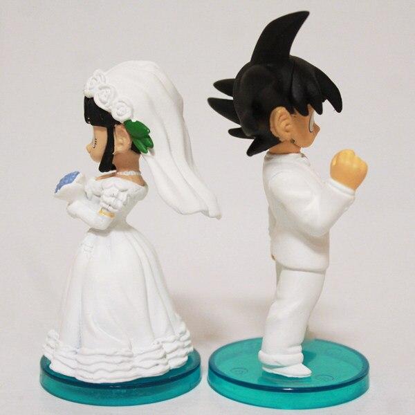 Online Shop Anime Dragonball Z Goku & Chichi Wedding Bride & Groom ...