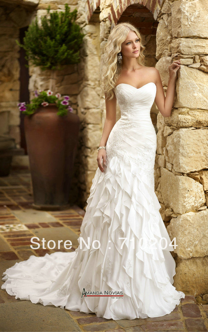 Popular Ivory Casual Wedding Dress-Buy Cheap Ivory Casual Wedding ...