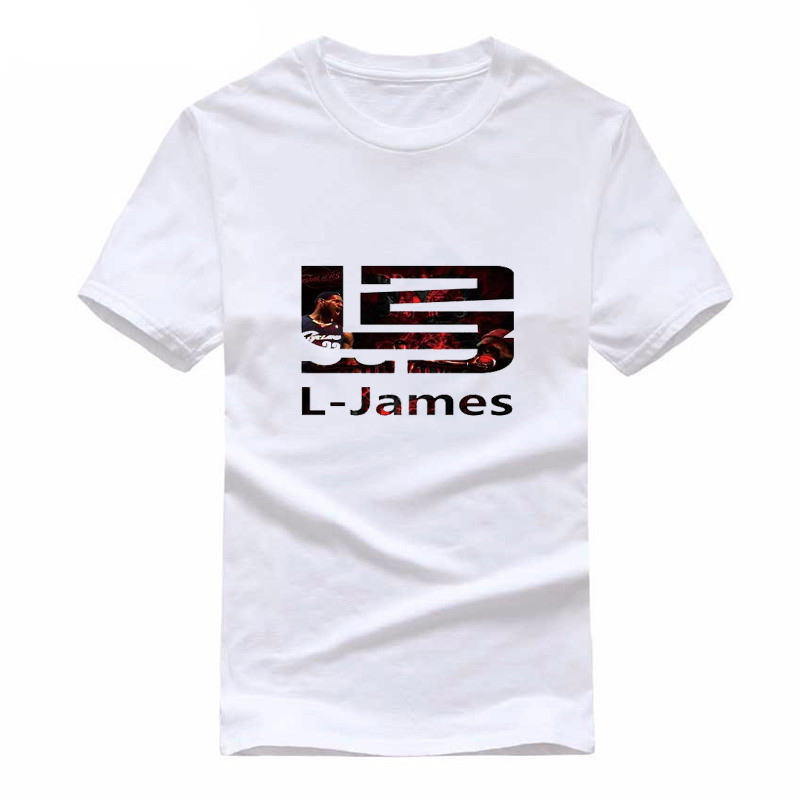 HOWLLOFTY 2018 New Brand Summer LeBron James 23   T     Shirts   Men James   T     Shirt   Short Sleeve Men Basket Ball   T  -  Shirt   Tops Cotton Tees