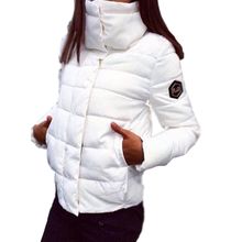2016 New Women Coat  Fashion Autumn Winter Female Cotton Down Jacket Women Parkas Casual Jackets  Parka Wadded Plus Size C88
