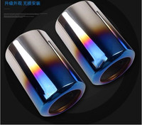 high quality Stainless Steel Exhaust Pipe Muffler for outlander auto accessories 2PCS For 2017 2018 Mazda CX 5 CX5