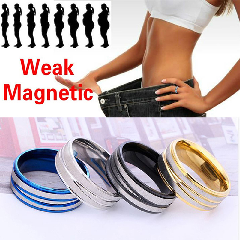 Magnetic Medical Slimming Magnetic Weight Loss Ring Tools Fitness Reduce Weight Ring String Stimulating Acupoints Gallstone Ring