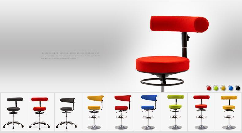 Hairdressing salon rotating back chairs free shipping library Reading room stools furniture show chair lifting rotation stool riggs r library of souls