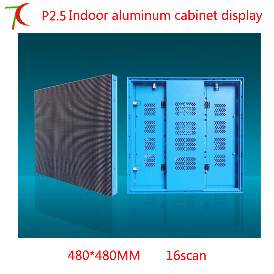 480*480mm 16scan P2.5  aluminum cabinet rental display480*480mm 16scan P2.5  aluminum cabinet rental display