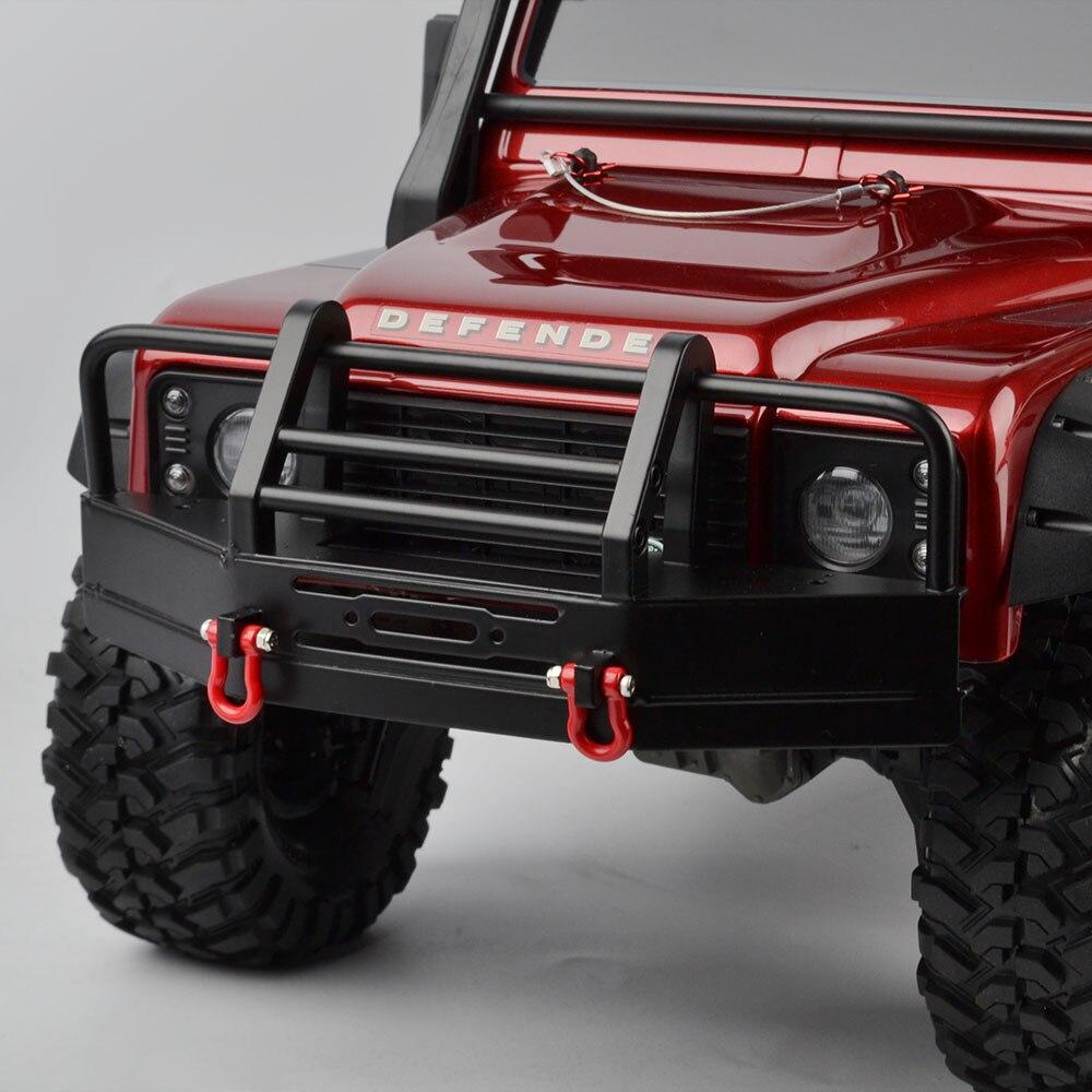 De alta calidad RC coche parachoques delantero de colisión de piezas para 1:10 escala RC Rock Crawler Traxxas TRX-4 TRX4 D90 D110 SCX10 Coche
