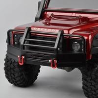 High Quality RC Car Front Bumper Collision Beam Parts for 1:10 Scale RC Rock Crawler Traxxas TRX 4 TRX4 D90 D110 SCX10 Car