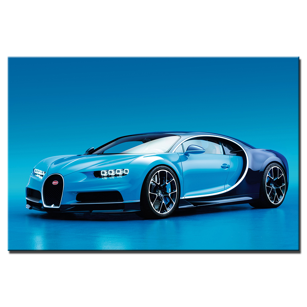 Vehicle Wall Art Posters Bugatti Chiron Supercar Wallpaper