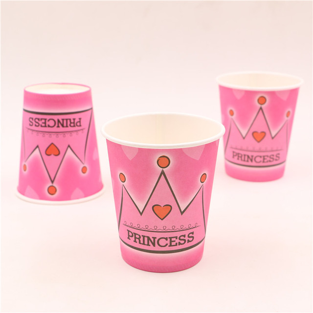 Princess Style Cups