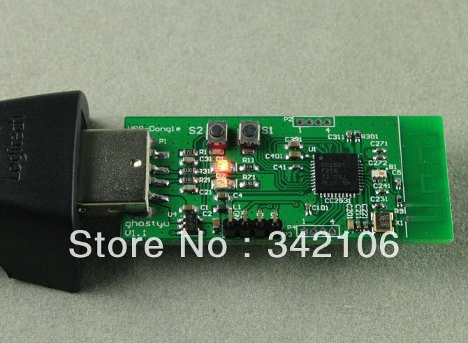 Free Shipping!  TI CC2540 USB Dongle Bluetooth development board protocol analyzer packet snifferFree Shipping!  TI CC2540 USB Dongle Bluetooth development board protocol analyzer packet sniffer