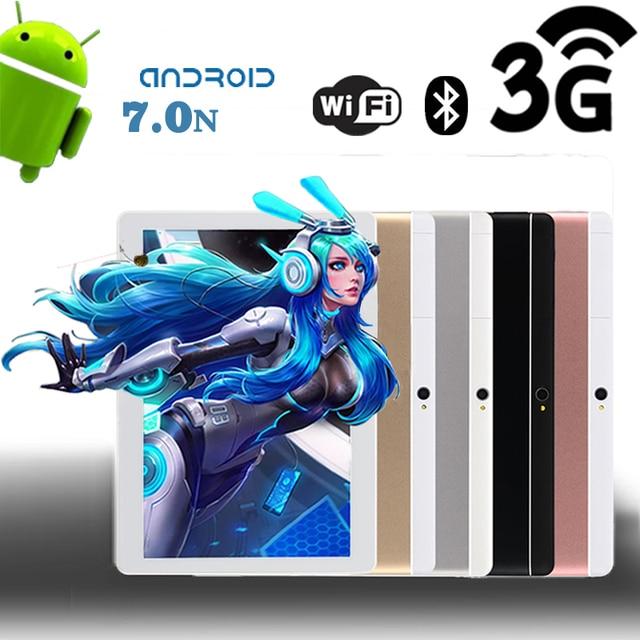 DHL miễn phí vận chuyển 10 inch Tablet pc Android 7.0 4 gb RAM 64 gb ROM Octa Core dual sim Điện Thoại cuộc gọi GPS WiFi Bluetooth 3 gam Máy Tính Bảng
