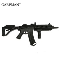 1:1 HK416 Assault Rifle Gun 3D Paper Model DIY Papercraft Handmade Toy