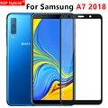 Защитное стекло для Samsung A7 2018 A750 A730, закаленное стекло, Защита экрана для Galaxy A 7 7a A72018 750 730, пленка с полным покрытием 9h