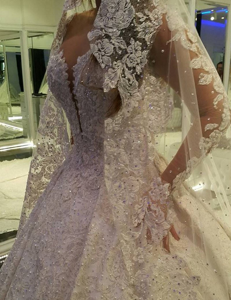 wedding dresses with long trains and sleeves long train wedding dresses Geous Lace Long Sleeve Mermaid Wedding Dress Train With Veil
